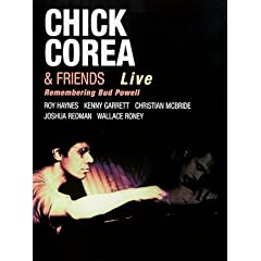 Chick Corea & Friends: Remembering Bud Powell - DVD (Zone USA)