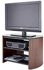 Buying Guide of  Walnut Real Wood TV Stand for screens up to 37 inch