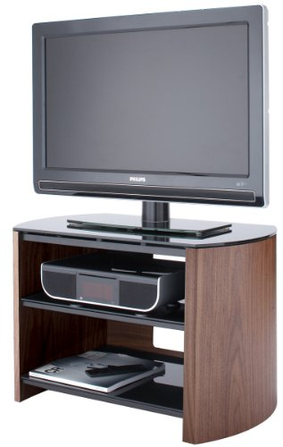 Walnut Real Wood TV Stand for screens up to 37 inch Black Friday & Cyber Monday 2014