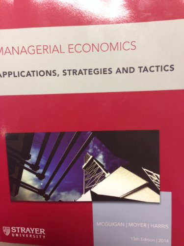 chapter managerial economics applications strategies Managerial economics: applications, strategy, and  11th edition by mark hirschey nature and scope of managerial economics chapter 1 chapter 1 overview how.