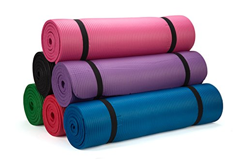 Premium Yoga Exercise Mat - By Trademark Innovations