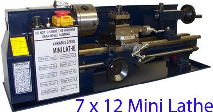Why Choose 7 X 12 Mini Metal Lathe