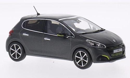peugeot-208-opaco-dunkelgrau-2015-modello-di-automobile-modello-prefabbricato-norev-143-modello-escl