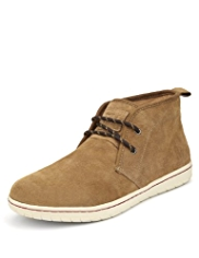 Blue Harbour Suede Chukka Boots with Stain Resistant™