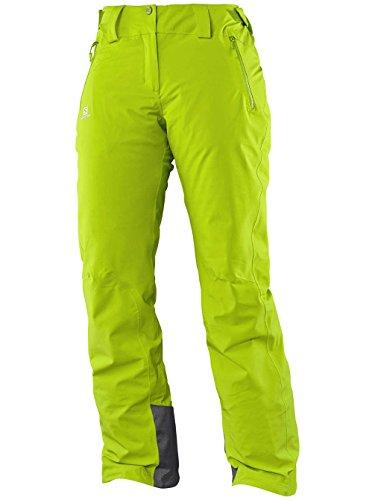 Salomon-Pantaloni da sci Salomon Iceglory Pant Wmn, da donna, colore: verde