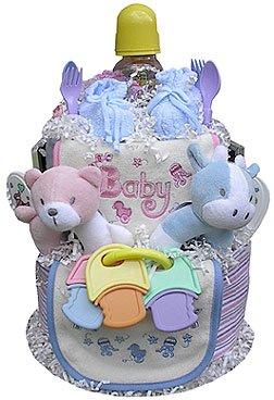 Twins Diaper Cake