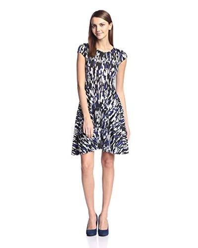Silva Women's Printed Fit-and-Flare Dress