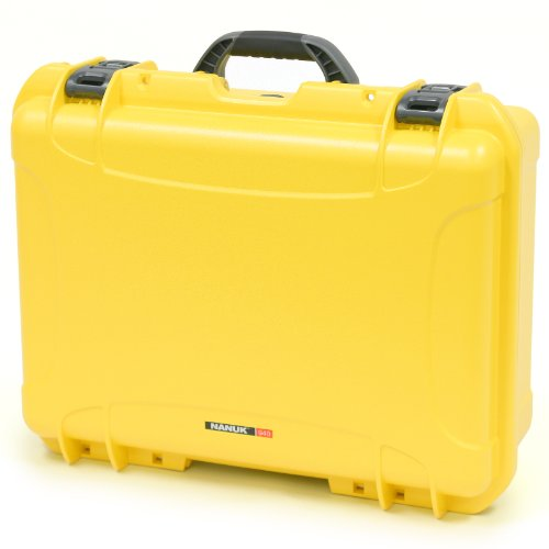 Nanuk 940 Case With Cubed Foam (Yellow)