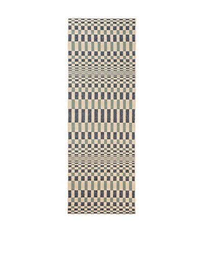 Tapis a Porter Alfombra Veranda Cielo/Beige 80 x 230 cm