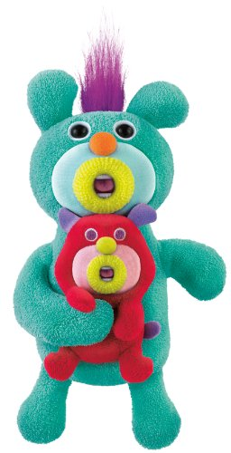 Mattel The Sing-A-Ma-Jigs Duets - Green with Puppy