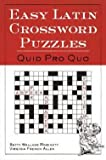 img - for Easy Latin Crossword Puzzles (Paperback)--by Betty Wallace Robinette [1998 Edition] book / textbook / text book