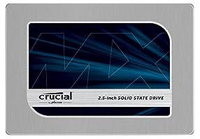 Crucial [Micron製Crucialブランド] 内蔵 SSD 2.5インチ MX200 ( 1TB / SATA 6Gbps / 7mm / 9.5mmアダプタ付属 ) 自社製MLCメモリー搭載 CT1000MX200SSD1