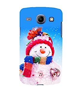 printtech Snowman Christmas Back Case Cover for Samsung Galaxy On7