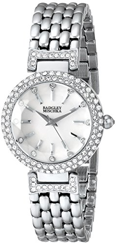 badgley-mischka-womans-ba-1345wmsb-swarovski-crystal-accented-watch-with-silver-tone-bracelet