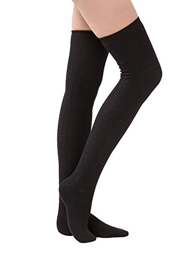 dimore-womens-knit-cotton-thigh-thick-high-socks-over-the-knee-long-socks-boot-cuff-socks-gift-black