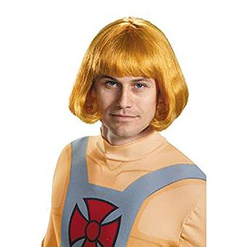 Disguise Men's He-Man Costume Wig, Multi, One Size