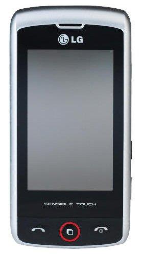 LG GW520 Etna 3g Sim Free Mobile Phone - Silver