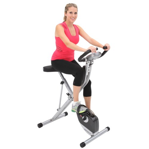 Exerpeutic Folding Magnetic Upright Bike Pulse