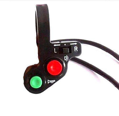 汎用 バイク ハンドル スイッチ ウィンカー ライト ハザード ATV バギー 22mm (1個)