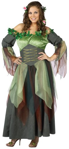 Mother Nature Adult Costume Size Plus-size