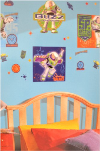 Disney Toy Story Buzz Lightyear Wall Decal Kids Room Nursery Mural Sticker