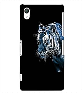 PrintDhaba Digital Tiger D-2207 Back Case Cover for SONY XPERIA Z2 (Multi-Coloured)