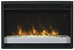 """ClassicFlame 26EF031GPG-201 26"""" Contemporary Electric Fireplace Insert with Safer Plug from Twin Star International, Inc."""