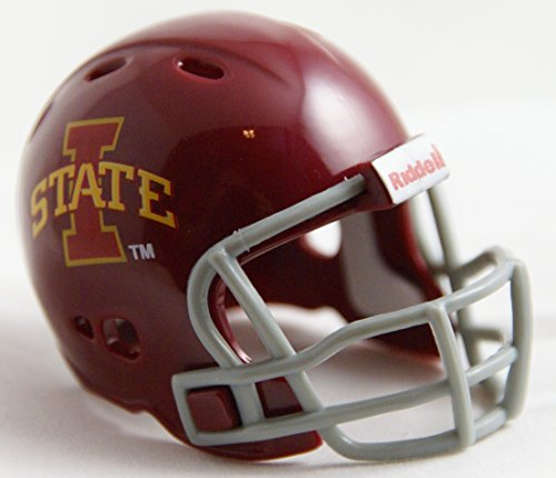 IOWA STATE CYCLONES NCAA Riddell Revolution POCKET PRO Mini Football Helmet (Iowa State Football Helmet compare prices)