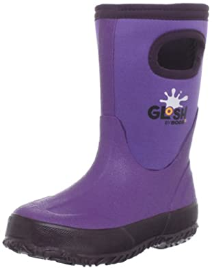 Bogs Glosh Waterproof Boot (Toddler/Little Kid/Big Kid),Purple,11 M US Little Kid