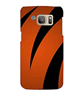 printtech Designer Tiger Print Back Case Cover for Samsung Galaxy S7 edge / Samsung Galaxy S7 edge Duos with dual-SIM card slots