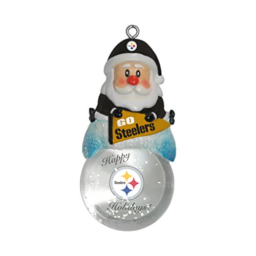 Fun Nfl Xmas Decorations Under 8 Dollars Steelers Glowing Holiday