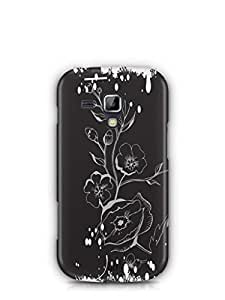 YuBingo Lovely Flowers Mobile Case Back Cover for Samsung Galaxy S Duos 2
