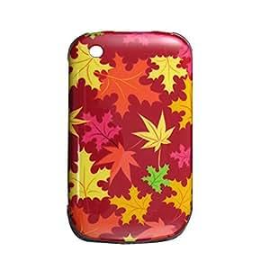 Maple Leaf Pattern Plastic Back Shell for Blackberry 8520