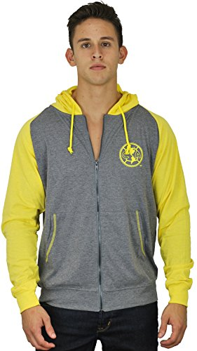 Club America Jacket Track Soccer Adult Sizes Soccer Football Official Merchandise X-Large Yellow (America Soccer Jacket compare prices)