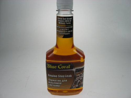 Car Engine Oil Stop Leak Seal Blue Coral 375ml NEW