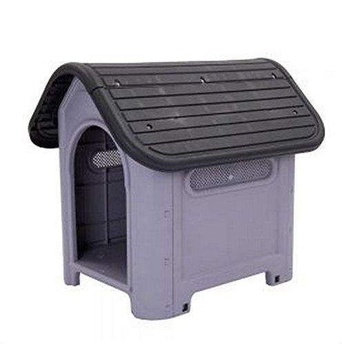 Hundehtte-Polly-Kunststoff-geeignet-zur-Verwendung-im-Innen-und-Auenbereich-ideal-fr-Hunde-mit-Allergien