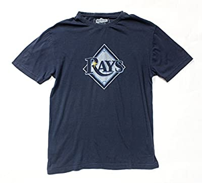 Tampa Bay Rays Retro Logo T-Shirt By Red Jacket