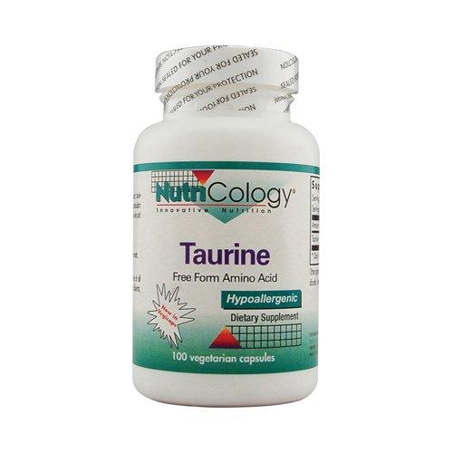 Nutricology Taurine 500mg 100 cap ( Multi-Pack)
