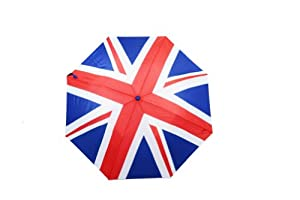 United Kingdom Flag Pattern Auto Open Umbrella