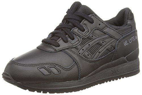ASICS Gel-Lyte III, Unisex-Erwachsene Sneakers, Schwarz (black/black 9090), 45 EU (10.5 UK) thumbnail
