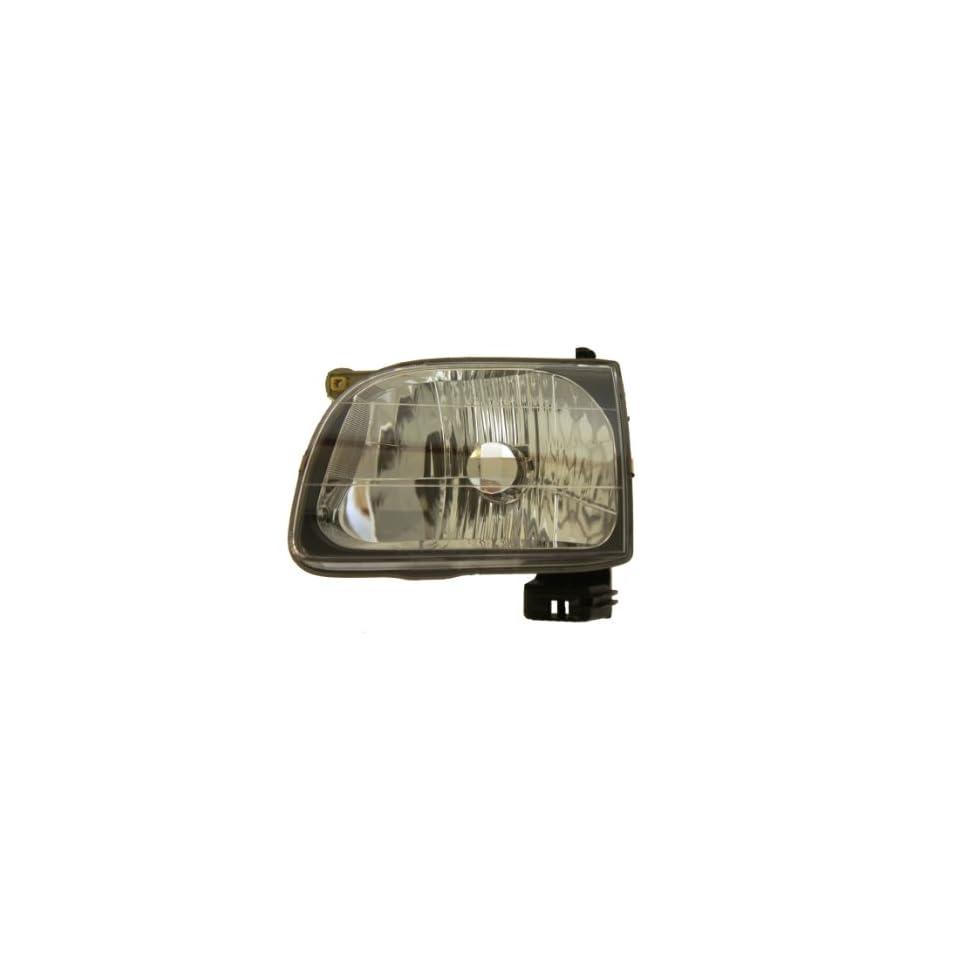 -Black Larson Electronics 1015P9IXL6M Passenger Side with Install Kit 6 inch 2005 Subaru FORESTER Post Mount Spotlight 100W Halogen