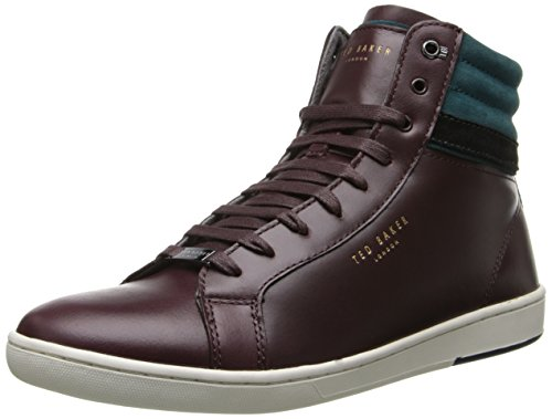Ted Baker Men's Kilma Fashion Sneaker,Dark Red Leather,9 M US