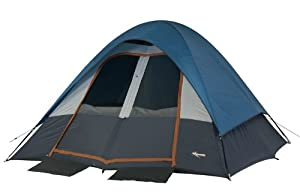Mountain Trails Salmon River 11- by 11-Foot, 2-Room 6-Person Tent from Wenzel