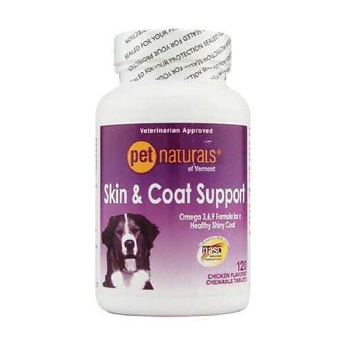 Skin And Coat Support For Dogs - 120 Tablet, 8 Pack