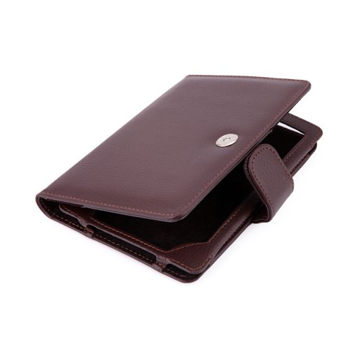 HDE® Brown PU Leather Case Fits Kindle Touch