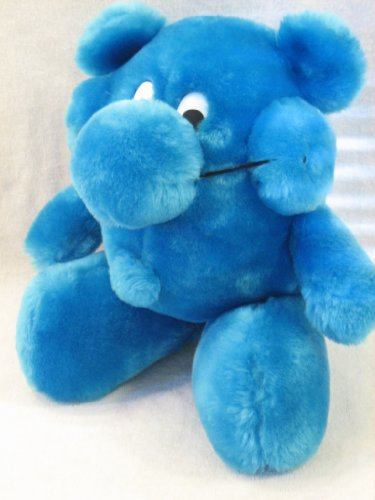 "Kodak Kolorkins Plush ""Click"" 8"" blue plush - 1"