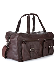 Collezione Leather Double Handle Urban Holdall