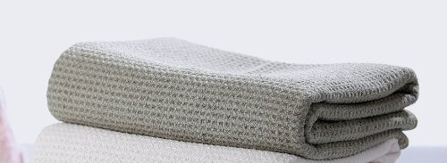 Fina Ultra Absorbent Waffle Weave Microfiber Bath Towel In
