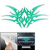 オートカープラスチックグリーンデビルステッカーオーナメント型