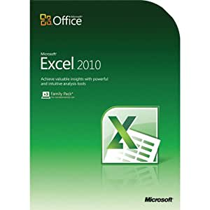 Excel Home And Student 2010 32-Bit/X64 Dvd Sd 6/15
